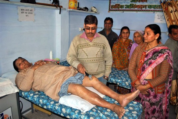 Free Medical Camp held at Sugni Devi Jesraj Hospital