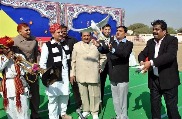 Art & Culture Fair Began at Karni Singh Stadium