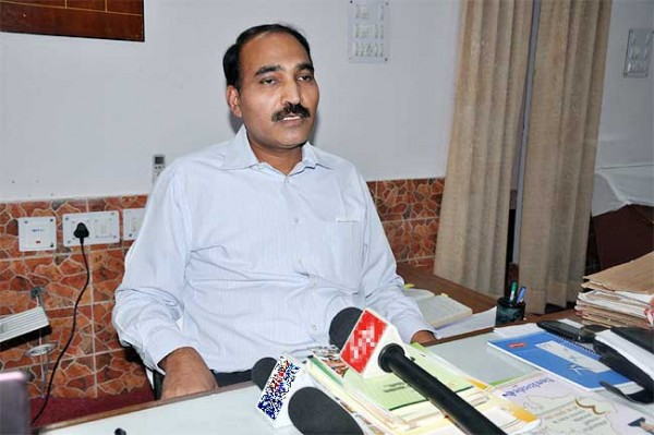 Anand Kumar took charge of Bikaner Division Commissioner