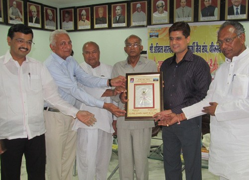 Cardiologist Dr Pintu Nahta Honored at Shri ABS Jain Sangh, Bikaner