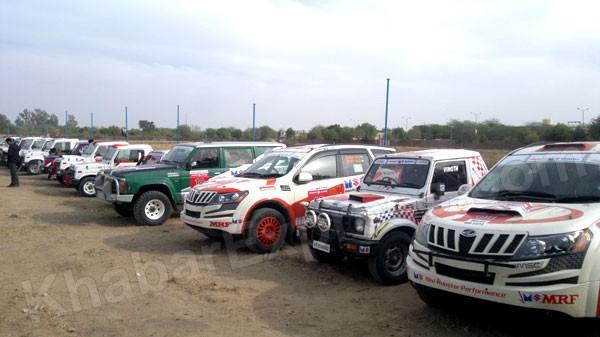 Maruti Suzuki Car Rally arrived today at Bikaner