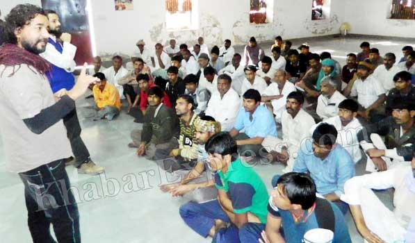 Unmanifesto talk with prisoners held at Central Jail, Bikaner