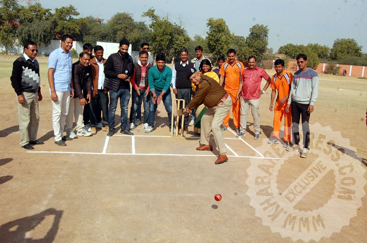 Ramawat Samaj Cricket Champion began at Railway Stadium Bikaner