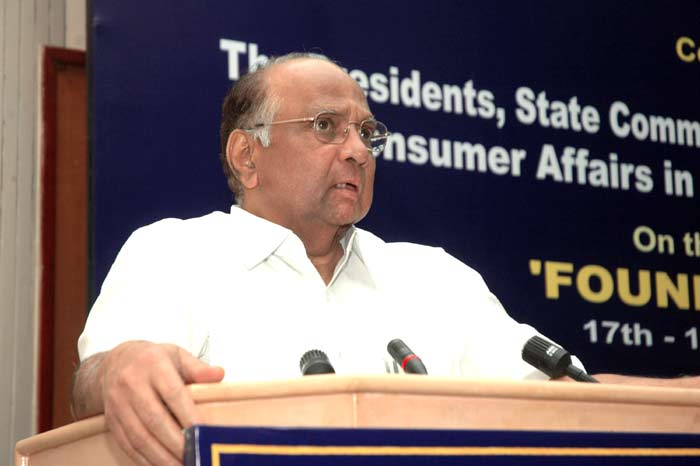 The Union Minister of Consumer Affairs, Food and Public Distribution and Agriculture, Shri Sharad