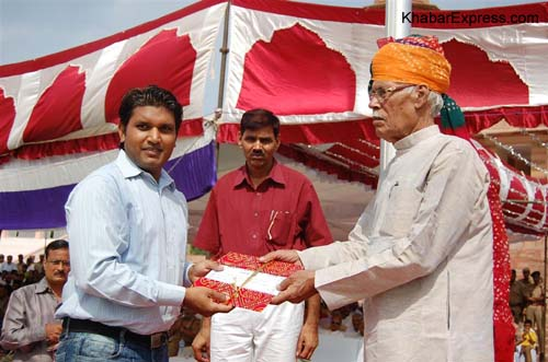 63rd Independance Day Celebration at Karni Singh Stadium, Bikaner