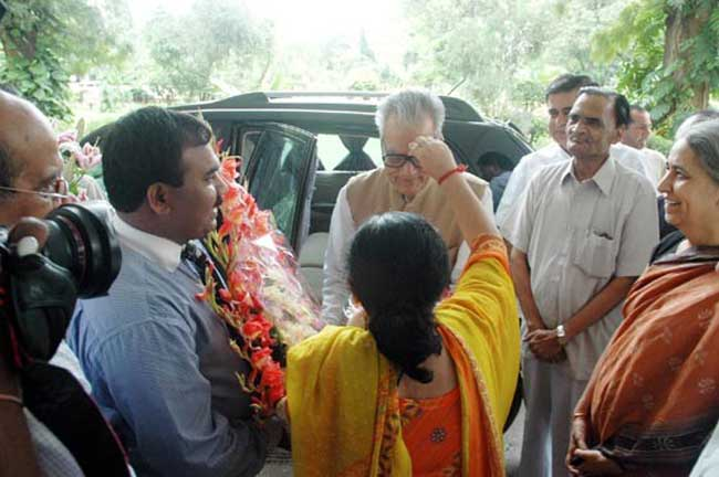 Ex Vice president Shri Bhairon Singh