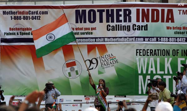 Indian celebrates the 29th India Day Parade at New York
