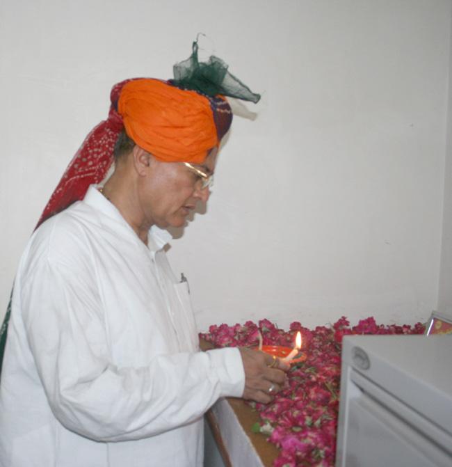 Dr. Kalla, Inaugaration 4th Pustikar laghu Vyapari Sameti in Bikaner
