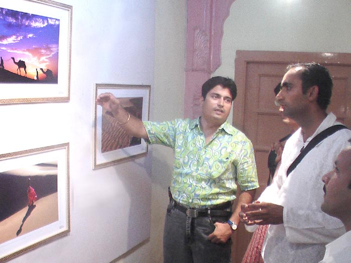 Exibition of Pictures by Rajesh Soni