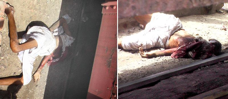Villager killed in train accident at kotegate, Bikaner