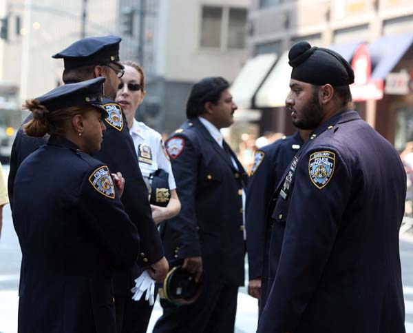 First Sikh Cop on Duty During the 29th India Day Parade at New York