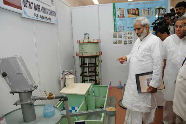 The Union Minister for Rural Development, Dr. Raghuvansh Prasad Singh at the Exhibition on Rural Dri
