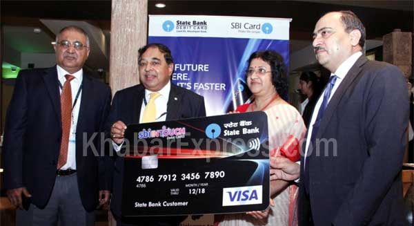 launch of sbiINTOUCH Contactless
