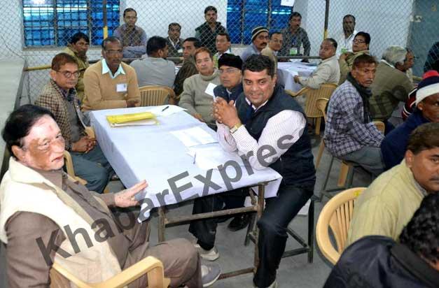 Sr Congress Leader Janardan Kalla and BJP Youth Leader Aviansh joshi