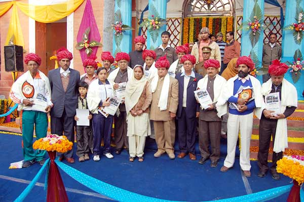 Peoples from various field awarded by Bikaner Municipal Corporation