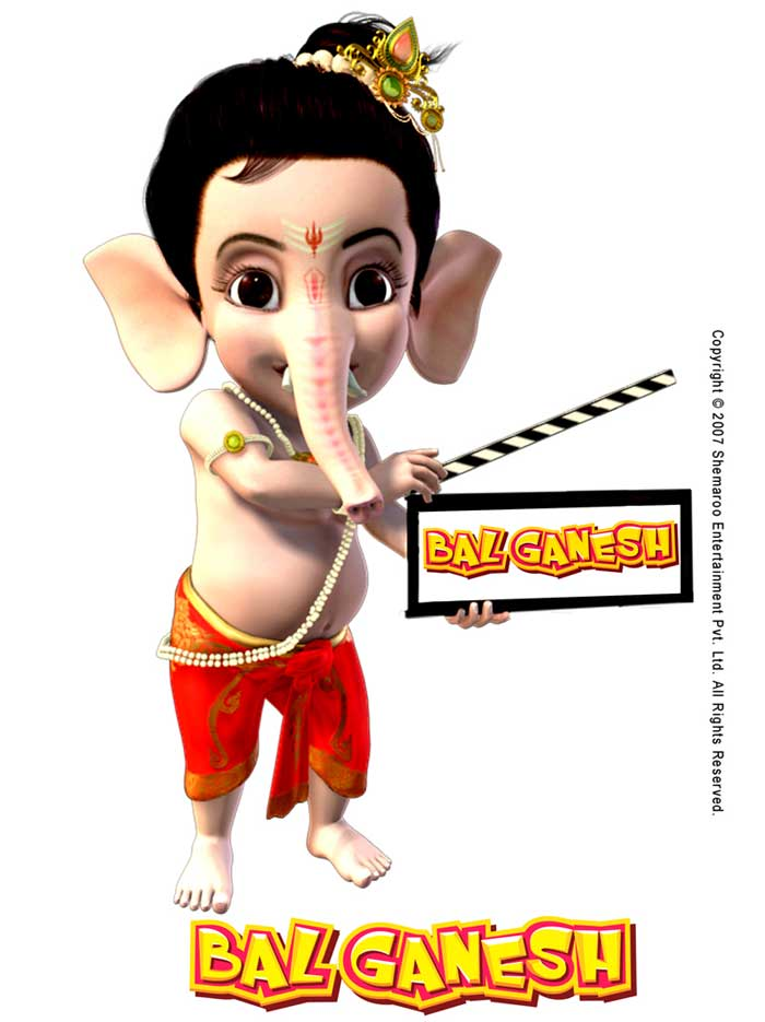 Shemaroo all set to release 3D Bal Ganesh this Ganesh Chaturthi