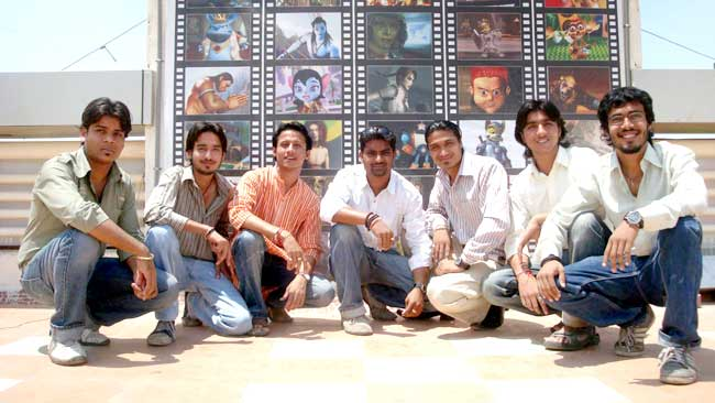 Artists of Jago Hindustan - An animation movie against corruption