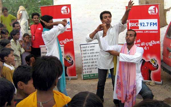 Big 92.7 celebrated World Population Day at Bikaner FM Station
