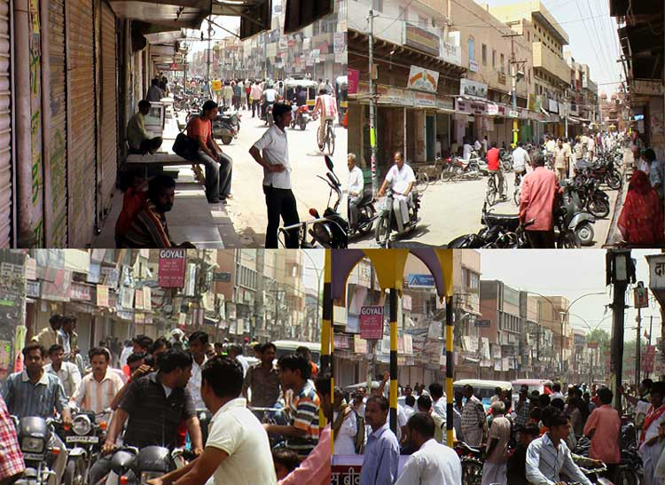 Impact of India Bandh - Kotegate and other Place