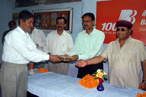 Bank of Baroda Celebrated today its 100th Foundation day