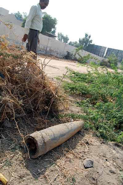 Bomb found in Civil area at Suratgarh