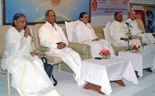 Prevention of Heart Disease Camp Held at Brahma Kumari Ashram Mount Abu