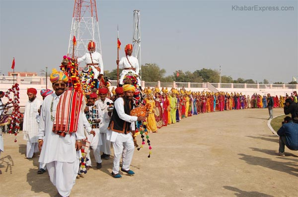 Camel Festival 2009 held at Karni Singh Stadium Bikaner