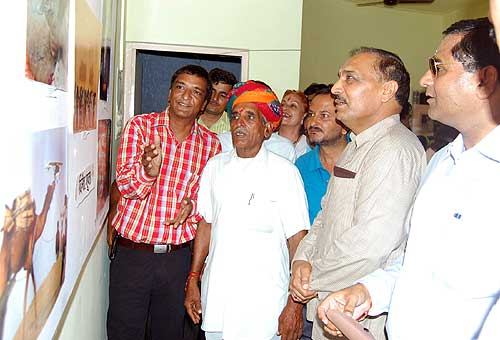 2 Days Press & Professional Photographers Photo Exibition started today at Sudarshana Galley,Bikaner