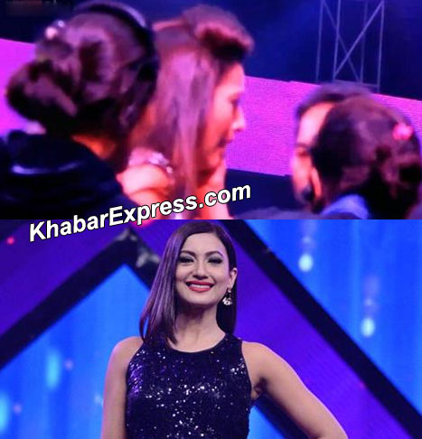 Gauhar Khan Slapped during India Raw Star