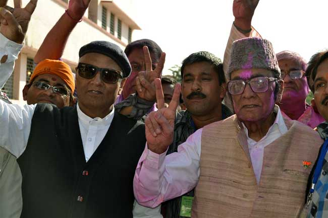 Dr Gopal joshi won