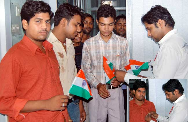 Indian starts celebration 62th Independence Day