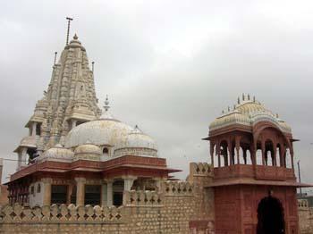 Cupola of Bhandasah Jain Temple