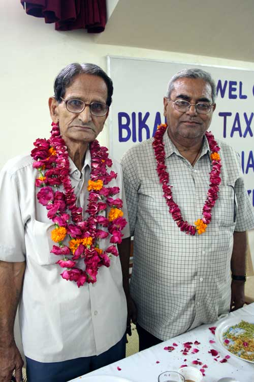 HK Ojha as President and J D Chura as Secretary are elected unanimously in Tax Bar Association, BKN