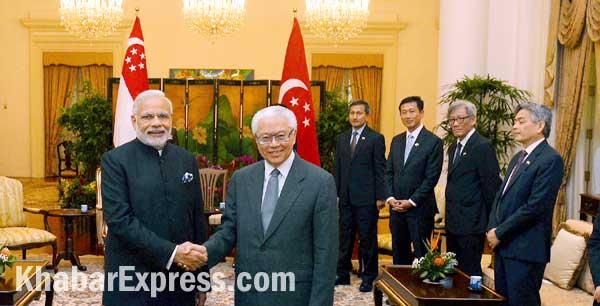 Modi met Keng Yas during singapore visit