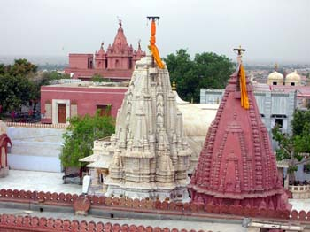 A view of Laxminath Temple