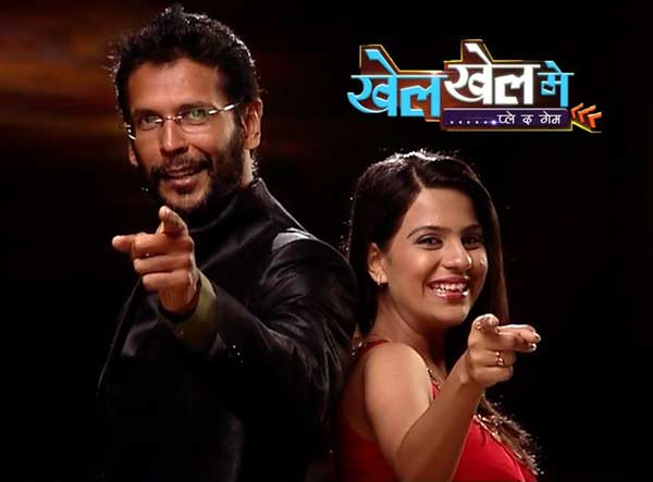 Milind Soman and Shradha in a New Realty Show Khel Khel Mai on DD1
