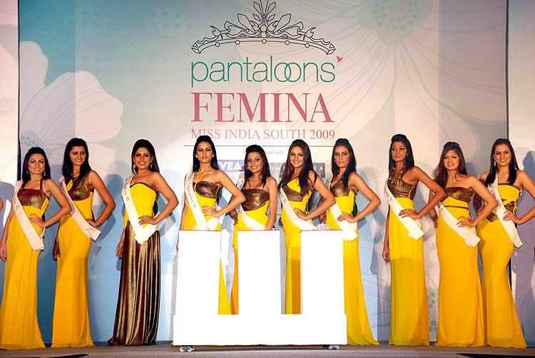 Pantaloons Femina Miss India South 2009 Transcends To The Next Level