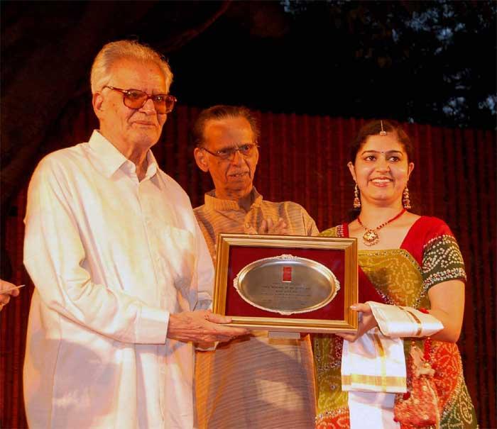 Bismillah Khan Award to Ms Aditi Sharma of Udaipur