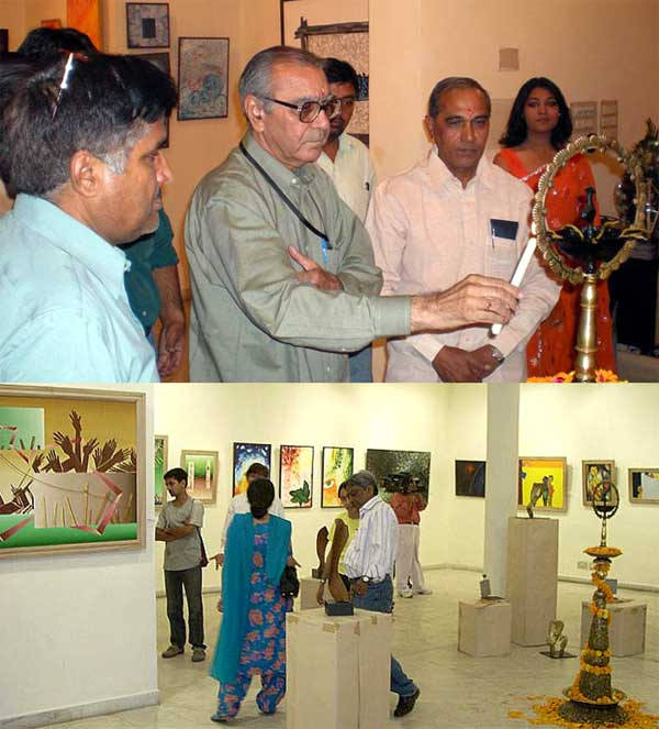 The Notes - Eye catching Exhibition of Artists from Hanumangarh and Sriganganagar