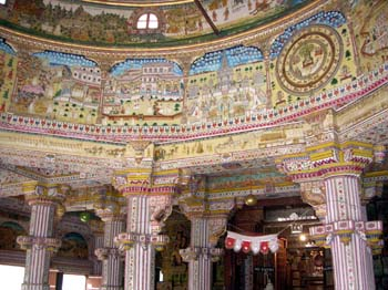 Painting in Jain temple