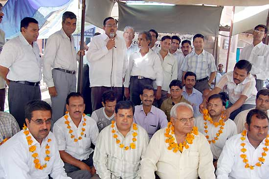 Agitation for High court bench in bikaner continue on 37th day