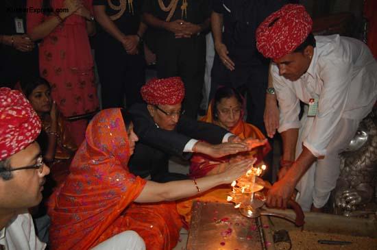Visit of Pratibha Patil at Bikaner