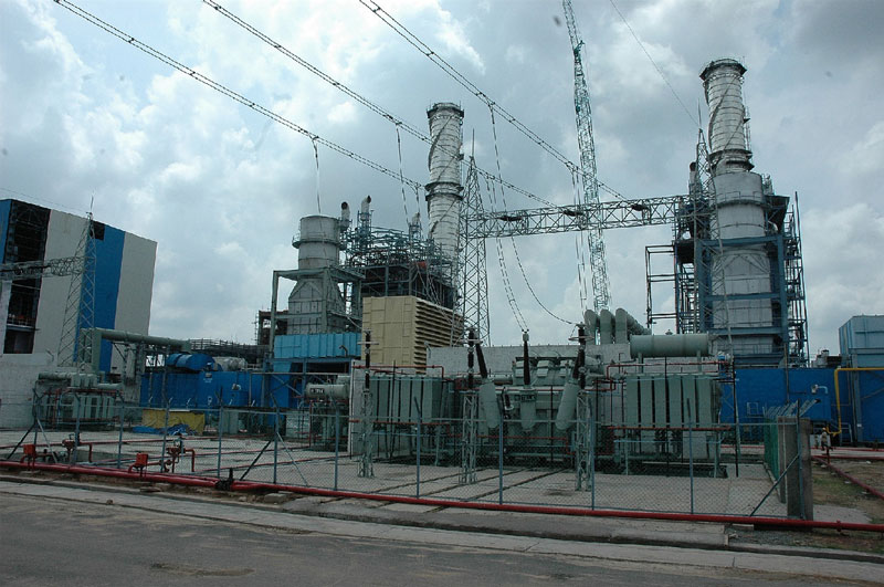 Vasundhara Raje Dedicated a 330 MW Gas Combined Cycle Power Station