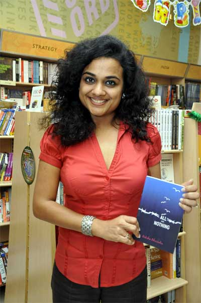 All and Nothing Book authored by Raksha Bharadia launched by  Mahesh Dattani