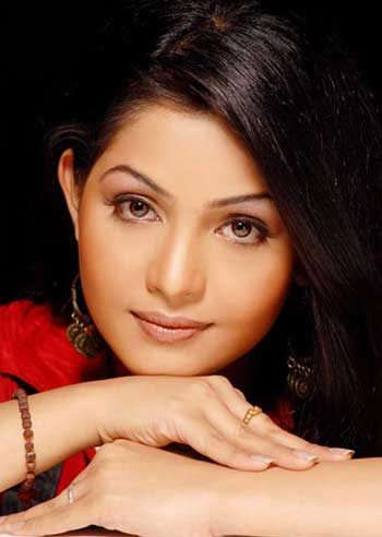 Indian TV Actress Shubhangi in Do Hanso Ka Joda
