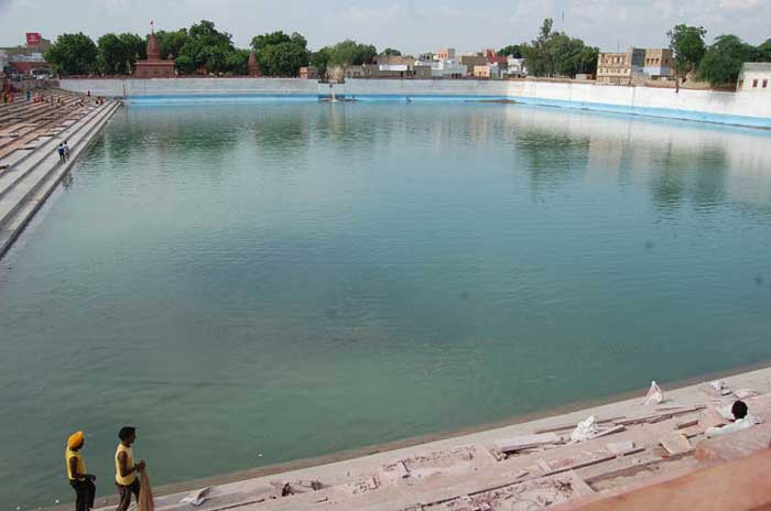 Sursagar is being filled with Fresh Water