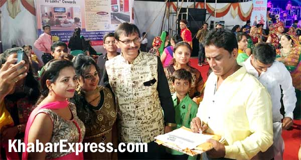 Taarak Mehta artist played Garba with real fans