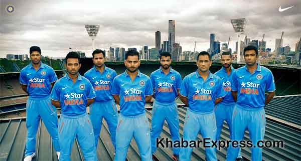 Team India and Nike today unveiled the new striking One Day International kit
