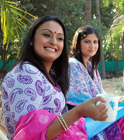Tina Parekh and Kuldeep Dube in Peehar TV Serial of DD 1