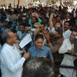 CM Ashok Gehlot Collectes Gyapan during Biakner Visit